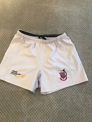 Manly Rugby Union Players Shorts Size 36
