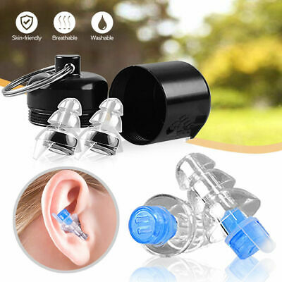 Noise Cancelling Ear Plugs for Sleeping Concert Soft Plush Silicone Earplugs