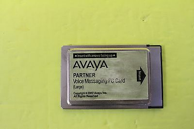 Avaya Partner Large Card VM Voicemail for ACS -  DEFAULTED ,TESTED WORKING
