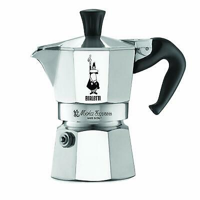 The Original Bialetti Moka Express Made in Italy 1-Cup Stovetop Espresso Maker w