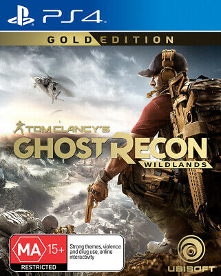 Tom Clancys Ghost Recon Wildlands Gold Edition PS4 Game NEW