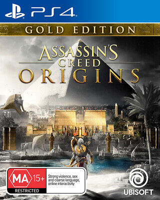 Assassins Creed Origins Gold Edition PS4 Game NEW