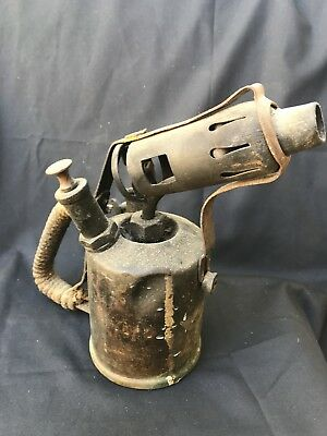 Antique Kerosene Welding Torch Flame