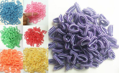 100X Girls Toddler Kids Hair Bands  Elastic Hair Bands Bobbles Bows Boutique