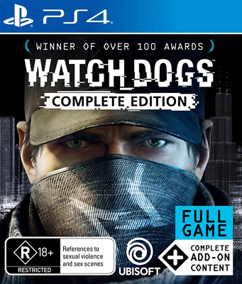 Watch Dogs Complete Edition PS4 Game NEW