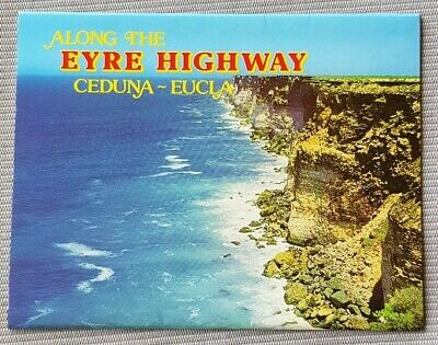 Along The Eyre Highway Ceduna To Eucla Postcard Folder