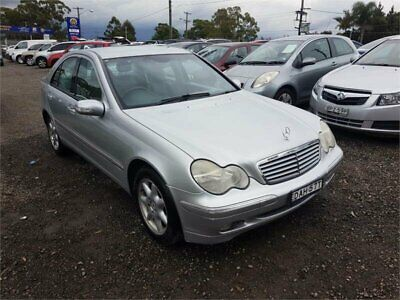 2001 Mercedes-Benz C240 W203 Classic Silver Automatic 5sp A Sedan
