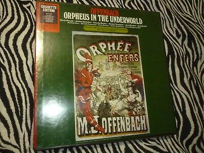 Vintage Offenbach / Orpheus In The Underworld On Cassette - NEW!!!