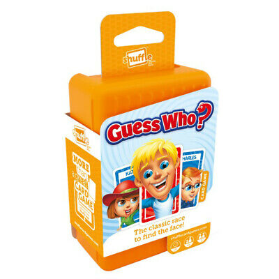 Shuffle Guess Who Card Game NEW