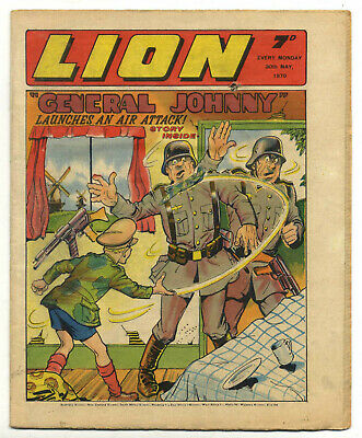 Lion 30th May 1970 (high grade) includes 4pg supplement launching Cor!!