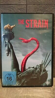 THE STRAIN Season 3 Staffel drei - 3 x DVD Ton: DEUTSCH
