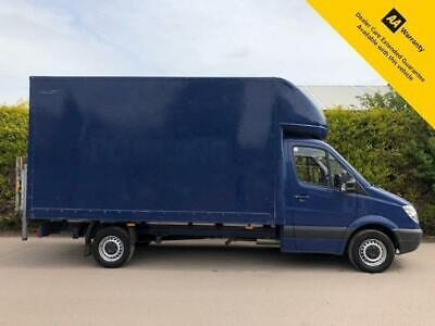 2011 Mercedes Sprinter 313 2.1 Cdi LWB LUTON VAN - TAIL LIFT - Blue - 130bhp