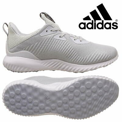 cc8d1283b Adidas ALPHA BOUNCE 1M Men s RUNNING Shoes Mesh Trainers Grey Sneakers  BW0541