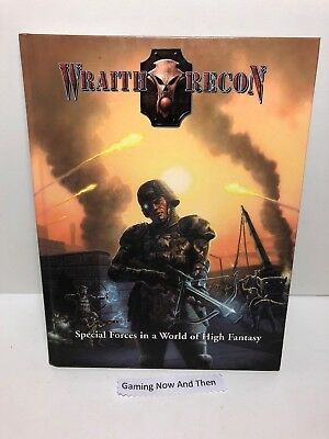 Mongoose Wraith Recon Dungeons & Dragons D&D Hardback 4th Edition Book