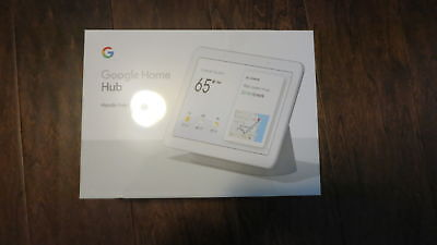 """BRAND NEW Google Home Hub with Google Assistant Smart 7"""" Display - Charcoal"""