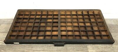 HAMILTON PRINTERS TYPESET Drawer tray Shadowbox with 240 +