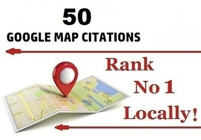 50 Map Citations for Local SEO Boost