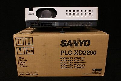 Sanyo PLC-XD2200 LCD Projector 47 HRS - Unit #3