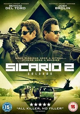 Sicario 2: Soldado [DVD] [2018] - Region 2 UK