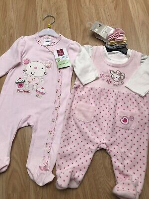 Girls' Clothing (0-24 Months) Baby Matalan Baby Girl Bundle 0-3