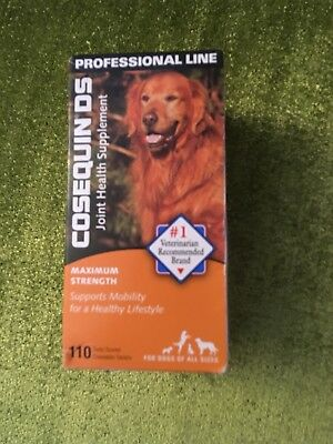 Cosequin DS Joint Supplement for Dogs Maximum Strength 110