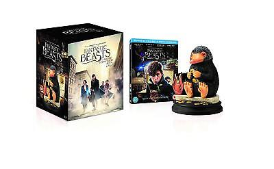 Fantastic Beasts and Where To Find Them w/ Niffler Statue (3D + 2D Blu-ray) NEW