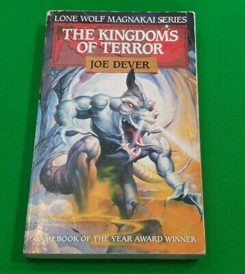 The Kingdoms of Terror ***RED FOX EDITION!!*** Joe Dever Lone Wolf #4