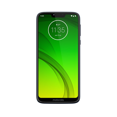 moto g7 power by motorola 32GB GSM/CDMA factory unlocked smartphone marine blue