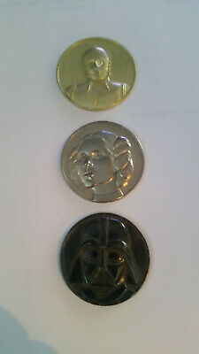 2005 California Lottery Star Wars Commemorative Rare Lotto Coins Lot of 3