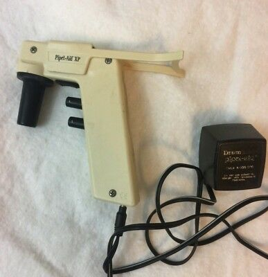 Drummond Pipet-Aid pipette XP dispenser w/ Charger, Stand Piece & NEW BATTERY!