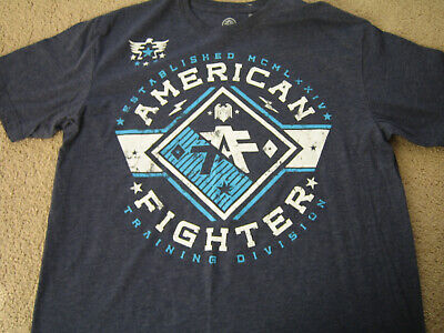 e5b191ee AMERICAN FIGHTER MENS SS Graphic T-Shirt - S/P (Small) - NWOT ...