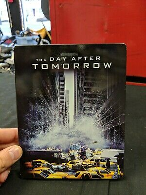 The Day After Tomorrow Blu Ray Movie In Metal Case