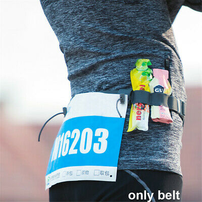 Elastic Cloth Bib Holder Running Waist Pack Race Number Belt Sports Tool