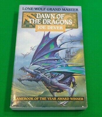 Dawn of the Dragons ***Nr MINT!!*** Joe Dever Lone Wolf Grand Master #1