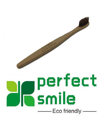 Bamboo Toothbrush Eco Friendly Biodegradable UK Soft Gentle Natural By Perfect S