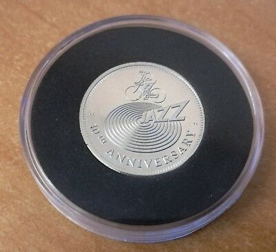 Brian May Queen Jazz 40th Anniversary 2018 Queen Sixpence Coin Pick Plectrum