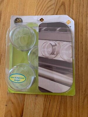 Safety First 5 Clear View Stove Knob Covers New In Package (Package Damaged)
