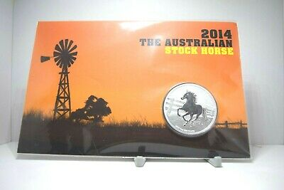 The Perth Mint 2014 Australian Stock Horse Silver Coin (Max. 1,000 mintage)