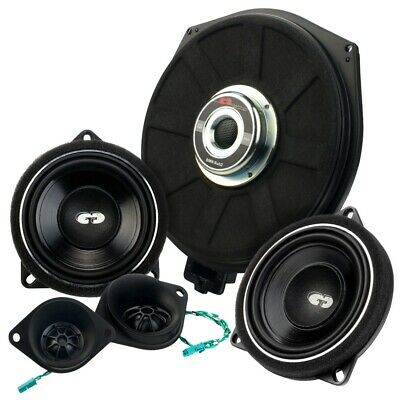 CDT Audio Set32 Speaker + Subwoofer Sistema audio a 3 vie per BMW Mini