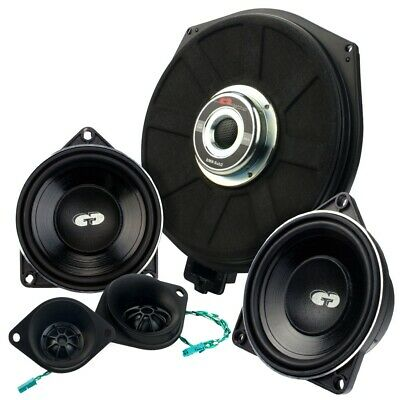 CDT Audio Set42 Speaker + Subwoofer Sistema a 3 vie per BMW Mini E6X E7X E83