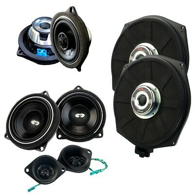 CDT Audio Set32+X Speaker + Subwoofer Sistema audio a 3 vie per BMW Mini