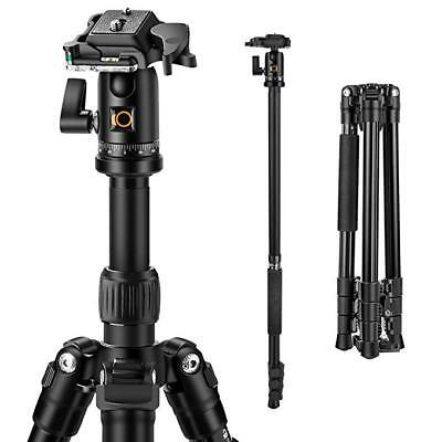 K&F Concept Professional Camera Tripod Monpod With Ball Head 12kg Load Capacity