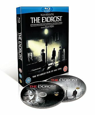 The Exorcist - Theatrical + Extended (Blu-ray, 2 Discs, 1973, Region Free) *NEW*