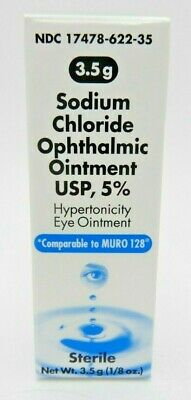 4Pk Sodium Chloride Ophthalmic Eye Ointment Usp, 5% 1/8 Oz 317478622352Yn