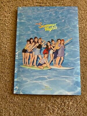 Twice 2Nd Special Album Summer Nights Album [Random]