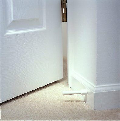NEW KidCo Soft Jamb Door Stop, 3-Pack - White