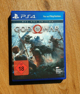 God of War - Day One Edition - Playstation 4 PS4, guter Zustand!