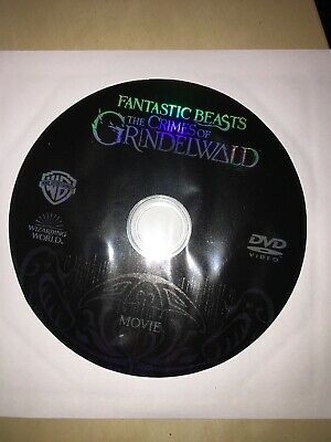 NEW US Fantastic Beasts The Crimes of Grindelwald (2019) DVD DISC ONLY - FREE