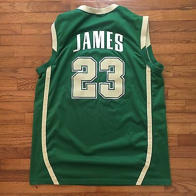 b1f9040d56a Lebron James St. Vincent-St. Mary High School Jersey XXL Nike Stitched Rare