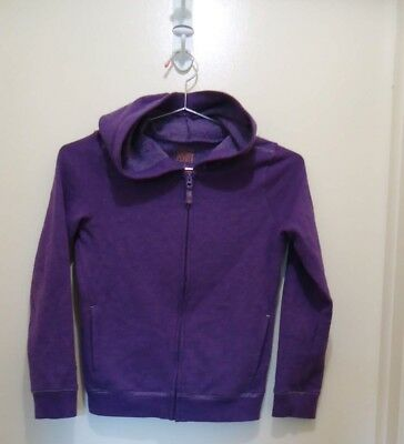 Jumping Beans Softest Fleece Full Zip Hoodie Girls Lilac Size 7